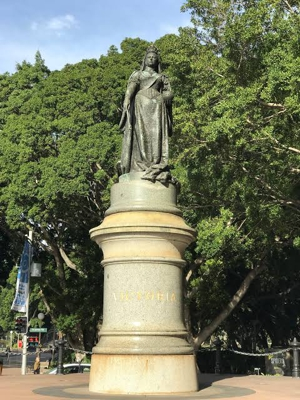 Statue of Queen Victoria by Joseph Edgar Boehm in 1879. Now located in Queen's Square, Sydney, Australia.
