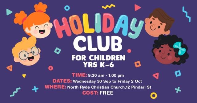 K-6 Children's Holiday Club
