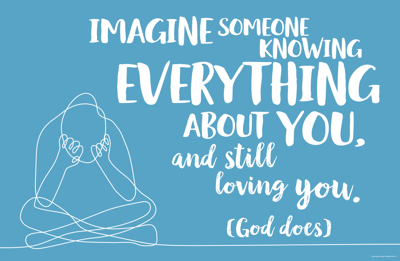 Imagine someone knowing everything about you!