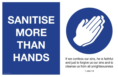 Sanitise more than hands